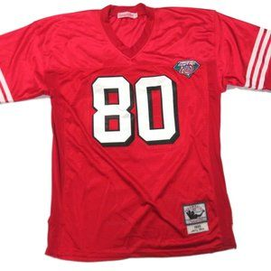 Jerry Rice Mitchell & Ness Throwback 49ers Jersey